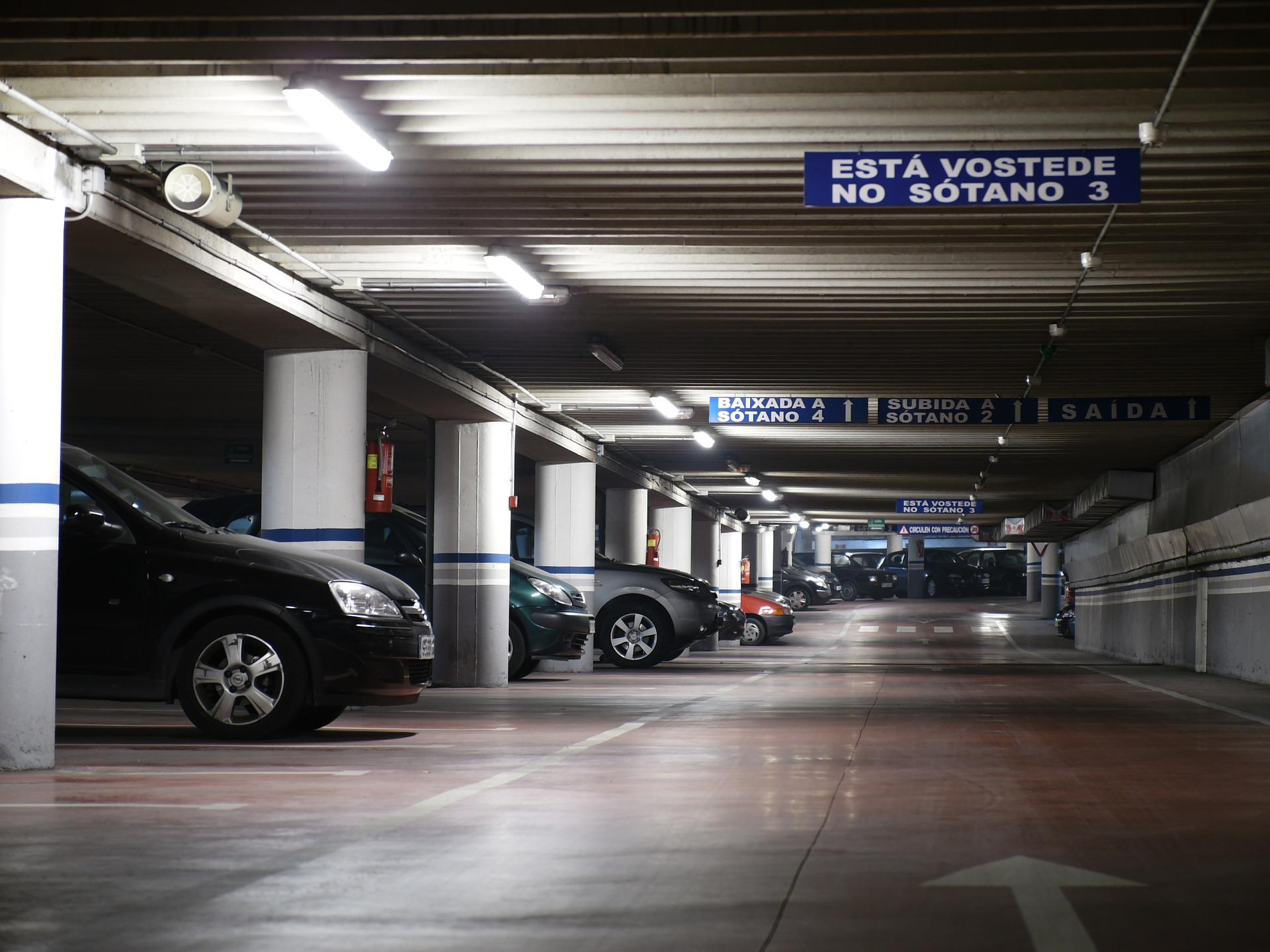 Public Car Park in Mallorca