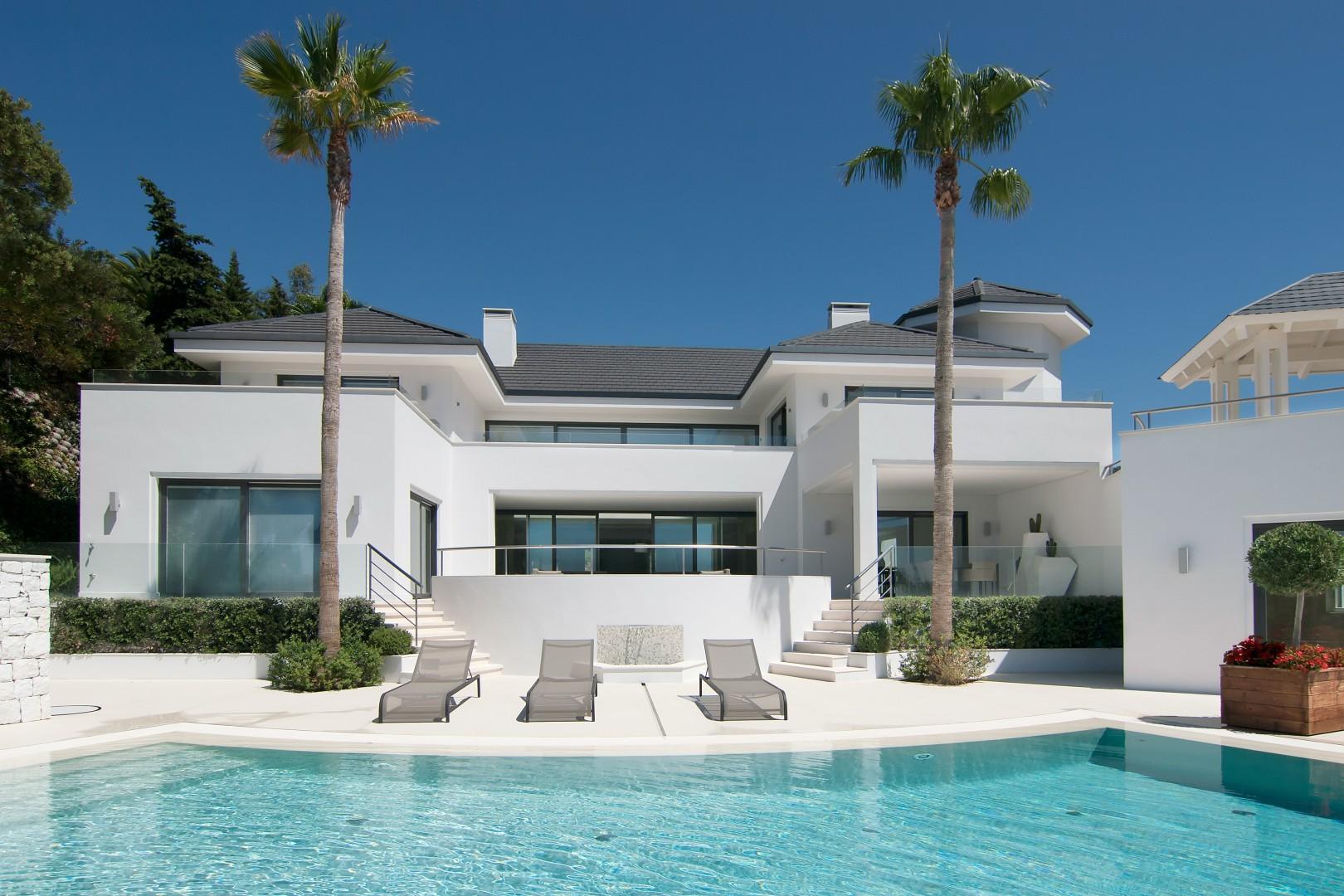 luxury villa in benahavis espanafy. Black Bedroom Furniture Sets. Home Design Ideas