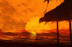 Sonnenuntergang marbella1