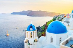 Hotel plot Greek island